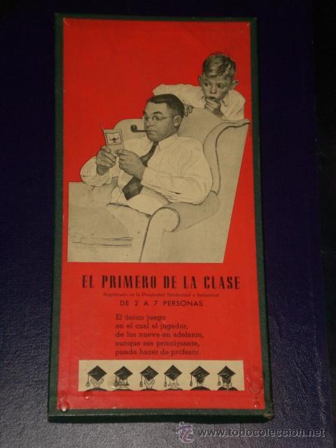 JUEGO CRONE: EL PRIMERO DE LA CLASE, PATENTADO POR FRANCISCO ROSELLÓ. (Juguetes - Juegos - Otros)