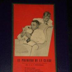 Juegos antiguos: JUEGO CRONE: EL PRIMERO DE LA CLASE, PATENTADO POR FRANCISCO ROSELLÓ.. Lote 15892534