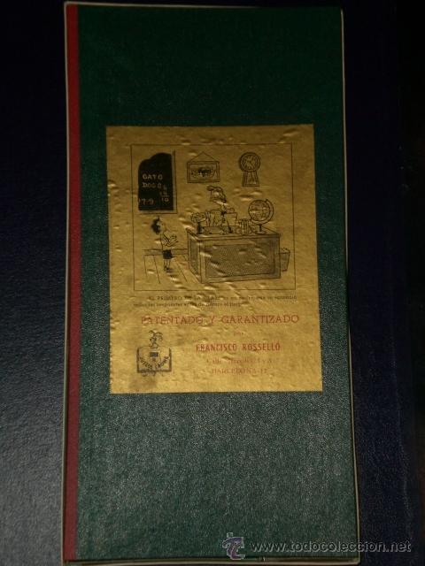 Juegos antiguos: JUEGO CRONE: EL PRIMERO DE LA CLASE, PATENTADO POR FRANCISCO ROSELLÓ. - Foto 2 - 15892534