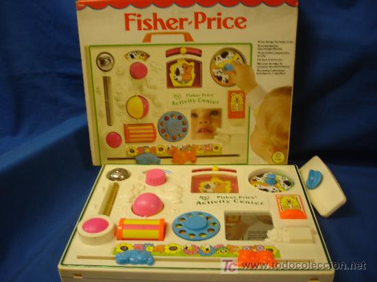 - FISHER-PRICE 1134 - 10 DIVERTIDOS JUEGOS PARA NIÑOS DE 3 - 18 MESES - 1984-1985 (Juguetes - Juegos - Otros)