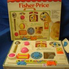 Juegos antiguos: - FISHER-PRICE 1134 - 10 DIVERTIDOS JUEGOS PARA NIÑOS DE 3 - 18 MESES - 1984-1985. Lote 25992278