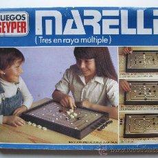 Juegos antiguos: MARELLE - TRES EN RAYA MÚLTIPLE - JUEGOS GEYPER.. Lote 16456505
