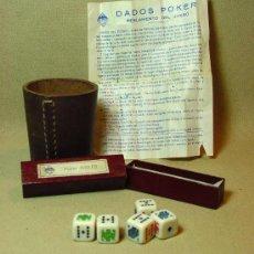 Juegos antiguos: JUEGO COMPLETO, POKER INGLES, INDUSTRIAS GALAICO, IMPECABLES, 1940S. Lote 194755958