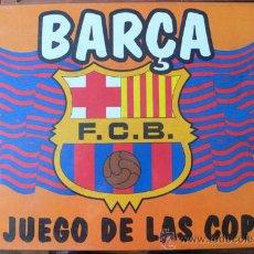 Juegos antiguos: BARÇA- EL JUEGO DE LAS COPAS- DE 2 A 4 JUGADORES, CON LICENCIA BARÇA-PRECINTADO - VELL I BELL. Lote 26456155
