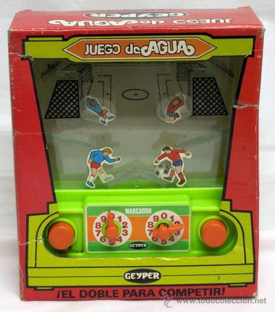 Juego De Agua Geyper Anos 80 Futbol Comprar Juegos Antiguos
