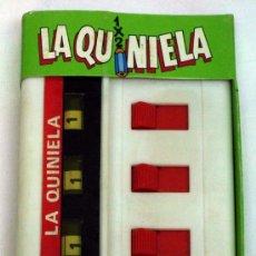 Jogos antigos: LA QUINIELA JUEGOS DE BOLSILLO GEYPER REF 779 AÑOS 80. Lote 181727537