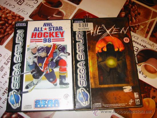 Lote De 3 Juegos Para Sega Saturn Hexxen Bla Comprar Juegos