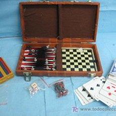 Juegos antiguos: MALETIN DE JUEGOS. Lote 18069889