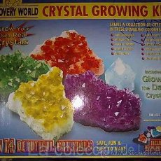 Juegos antiguos: CRYSTAL GROWING KIT. ED. DISCOVERY WORLD. Lote 18251488