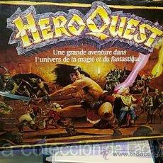 Juegos antiguos: HERO QUEST ADVENTURE CON MANUAL, CARTAS Y LIBRO DE AVENTURAS EN ESPAÑOL PARA IMPRIMIR. Lote 18257151
