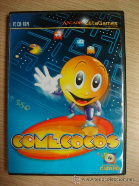 Juego Pc Cd Rom Comecocos Arcade Caratro 2003 Comprar Juegos