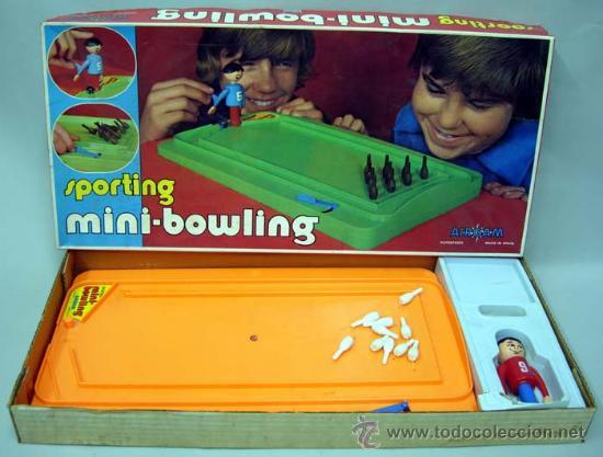 SPORTING MINI BOWLING DE AIRGAM 1978 (Juguetes - Juegos - Otros)