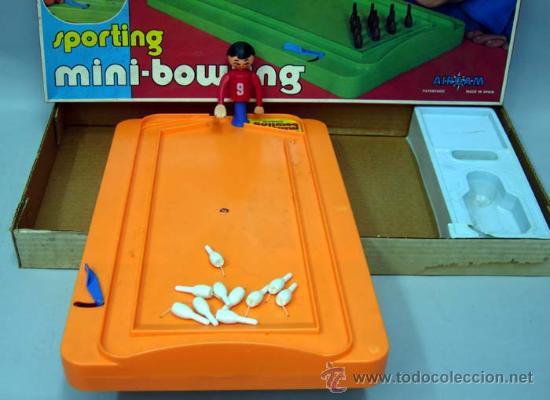 Juegos antiguos: Sporting Mini Bowling de Airgam 1978 - Foto 2 - 23980447