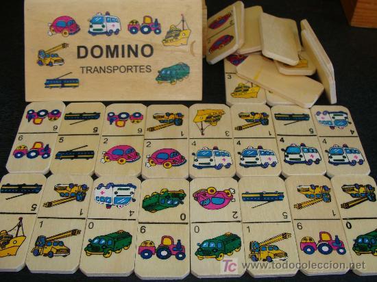 Juego De Domino De Transportes Para Ninos Amb Comprar Juegos