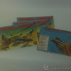Juegos antiguos: AVIONES DE COMBATE ,EDITORIAL IRU S.A. AÑOS 70. Lote 27503475