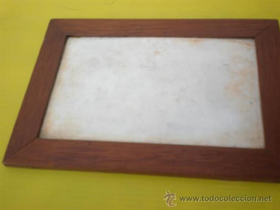 Juegos antiguos: pequeña piuzarra en piedra blanca - Foto 2 - 25194443