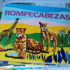 Juegos antiguos: ROMPECABEZAS DE ANIMALES BORRÁS. REF. 520. AÑOS 60.. Lote 27455229