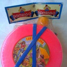 Juegos antiguos: CANTIMPLORA DOMINGO JUGUETES DE KIOSKO MADE IN SPAIN. Lote 27850007