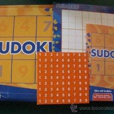 Juegos antiguos: JUEGOS SUDOKU DE FANTA. SUDUKU. . Lote 27883964