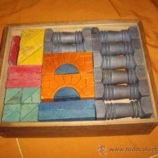 Juegos antiguos: ARQUITECTURA DE MADERA - JUEGO COMPLETO - AÑOS 40-50. Lote 28183474