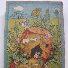 Juegos antiguos: ANTIGUO ROMPECABEZAS DE CUBOS DE CARTÓN.. Lote 28404426