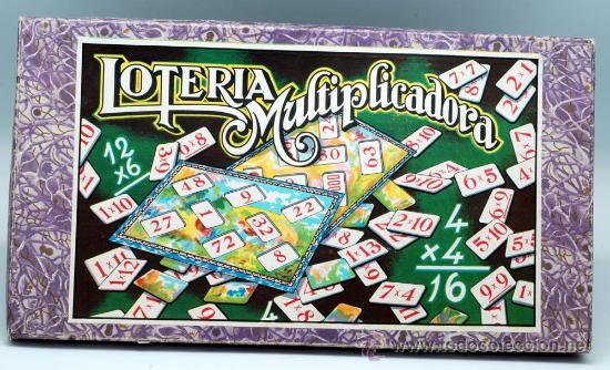 LOTERIA MULTIPLICADORA ENRIQUE BORRAS MATARO AÑOS 40 50 (Juguetes - Juegos - Otros)