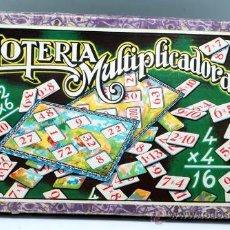Juegos antiguos: LOTERIA MULTIPLICADORA ENRIQUE BORRAS MATARO AÑOS 40 50. Lote 28443787