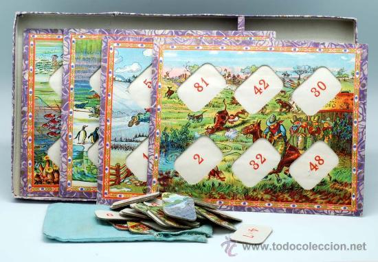 Juegos antiguos: Loteria multiplicadora Enrique Borras Mataro años 40 50 - Foto 2 - 28443787