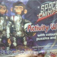 Juegos antiguos: LOTE DE JUEGOS Y ACCESORIOS SPACE CHIMPS ( MISION ESPACIAL ) NUEVO. Lote 28494673