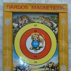 Giochi antichi: DARDOS MAGNETICOS - JUGUETES AGUILAR REF.703 AÑO 1967. Lote 28529605