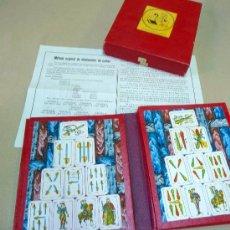 Juegos antiguos: CAJA DE MAGIA, JUEGO DE ELIMINACION DE CARTAS, Nº 144, CASA DE JUEGOS, MADRID, CON INSTRUCCIONES. Lote 28587385