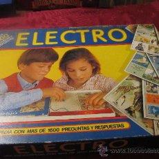 Juegos antiguos: M69 ANTIGUO ELECTRO DE DISET CON 1600 PREGUNTAS DE LOS PRIMEROS UNA JOYA. Lote 29276259