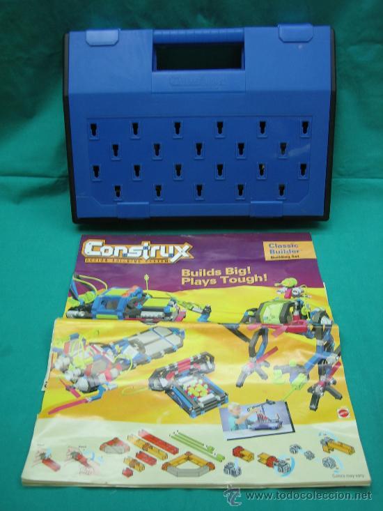Juegos antiguos: Construx de Mattel año 1995 - Foto 2 - 29443631