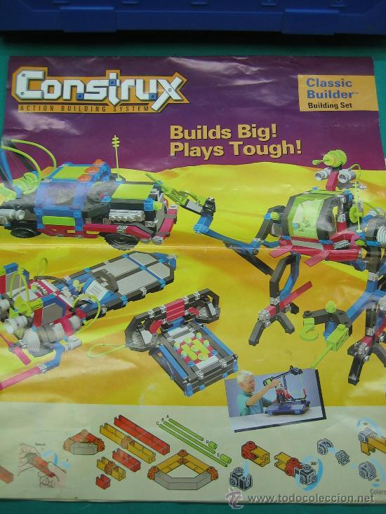 Juegos antiguos: Construx de Mattel año 1995 - Foto 5 - 29443631