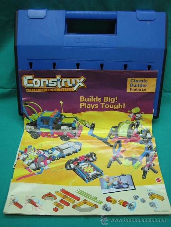 Juegos antiguos: Construx de Mattel año 1995 - Foto 4 - 29443631