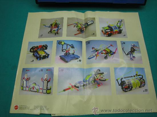 Juegos antiguos: Construx de Mattel año 1995 - Foto 3 - 29443631