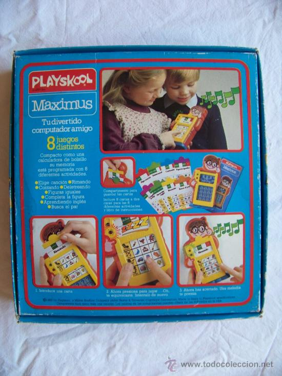 Juegos antiguos: PLAYSKOOL MAXIMUS PREGUNTAS Y RESPUESTAS - Foto 6 - 29437121