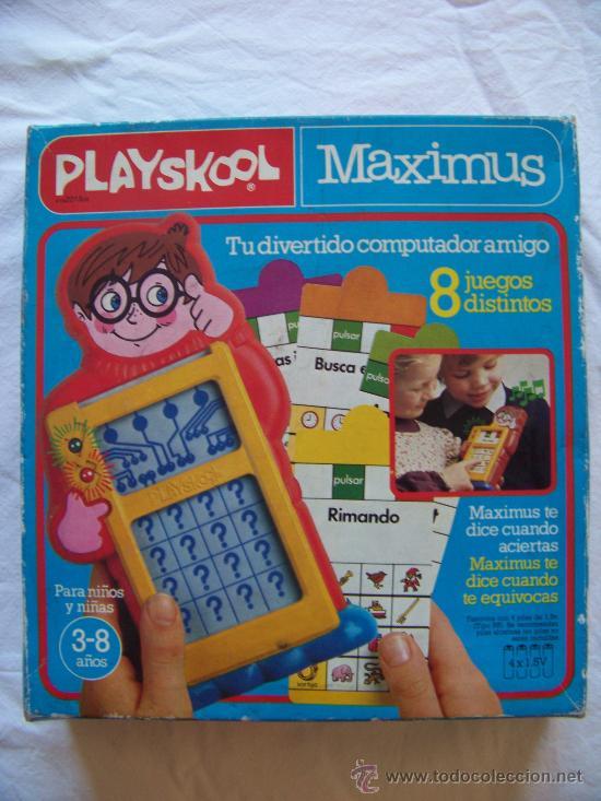 PLAYSKOOL MAXIMUS PREGUNTAS Y RESPUESTAS (Juguetes - Juegos - Otros)
