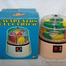 Juegos antiguos: LAVAPLATOS ELECTRICO MADE IN SPAIN EN CAJA. Lote 30759719