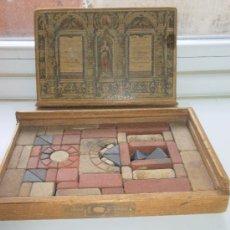 Juegos antiguos: JUEGO DE CONSTRUCCIÓN. 1920-30. Lote 31067255