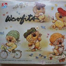 Juegos antiguos: WOOFITS - ROMPECABEZAS DE CUBOS DE PLÁSTICO - DALMAU CARLES PLA - AÑOS 70/80.. Lote 31088250