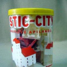 Juegos antiguos: JUEGO DE CONSTUCCION, PLASTIC CITY, JUGUETES BREKAR. Lote 32186119