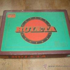 Juegos antiguos: JUEGO DE RULETA DE GEYPER AÑOS 70 80 . Lote 31860311
