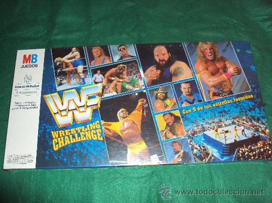 Juego De Mesa Wwf Wrestling Challenge Pressing Comprar Juegos