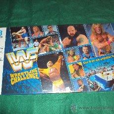 Juegos antiguos: JUEGO DE MESA WWF WRESTLING CHALLENGE PRESSING CATCH DE MB PRECINTADO WWE - NUEVO-. Lote 31998239