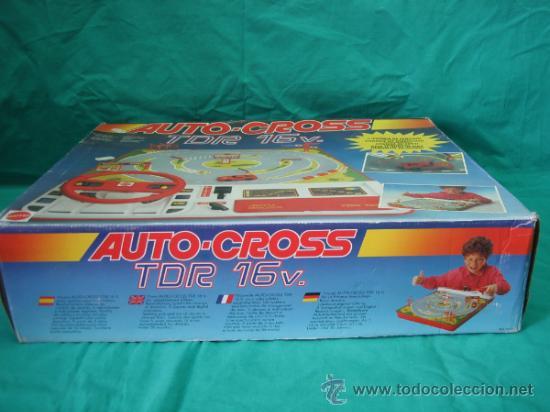 Juegos antiguos: Auto Cross de Mattel 1990. Falta arco de meta. Tiene los coches - Foto 3 - 32746923