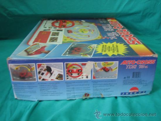 Juegos antiguos: Auto Cross de Mattel 1990. Falta arco de meta. Tiene los coches - Foto 4 - 32746923