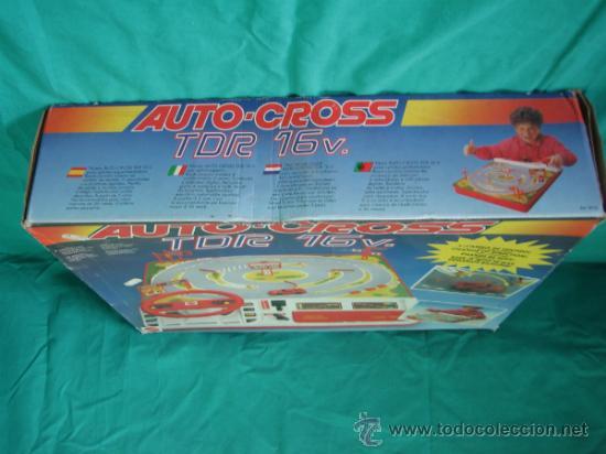 Juegos antiguos: Auto Cross de Mattel 1990. Falta arco de meta. Tiene los coches - Foto 5 - 32746923