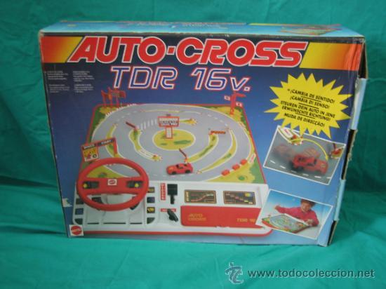 Juegos antiguos: Auto Cross de Mattel 1990. Falta arco de meta. Tiene los coches - Foto 7 - 32746923
