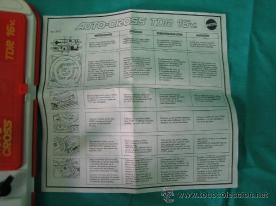 Juegos antiguos: Auto Cross de Mattel 1990. Falta arco de meta. Tiene los coches - Foto 9 - 32746923